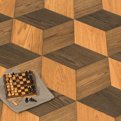 Parchet dublustratificat 3D Cube